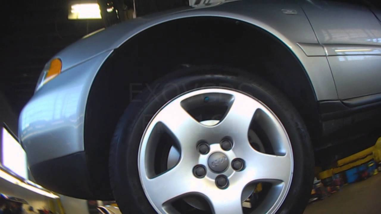 Audi B5 V6 Crankshaft Position Sensor Location Helping
