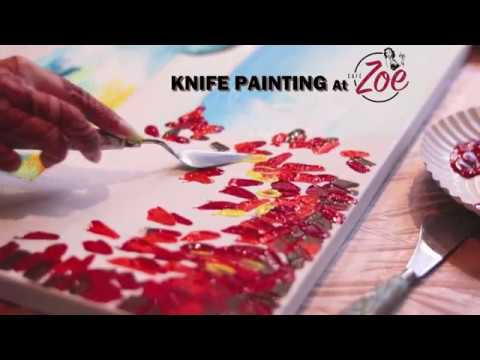Knife Painting Party by Bombay Drawing Room