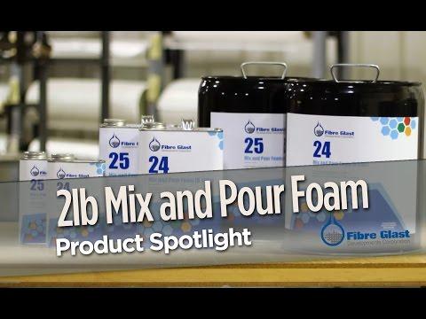 2 Lb. Polyurethane Mix and Pour Foam