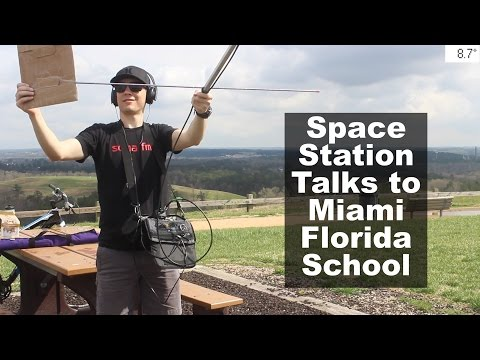 Space Station Talks to Miami Florida School