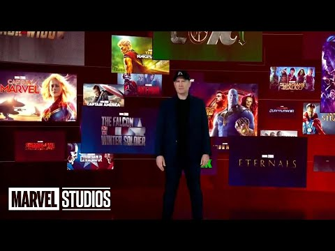 MARVEL PHASE 5 FULL SLATE REVEAL | All Footage and Announcements Disney Investors Day - Everything Always