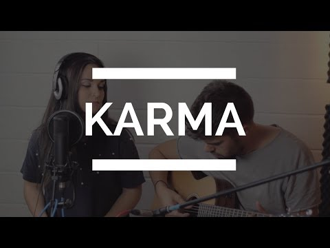 KARMA - EVA RUIZ   LIVE COVER CAROLINA GARCÍA