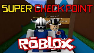 SUPER CHECK POINT RACING with Kmansong2 - ROBLOX Commentary