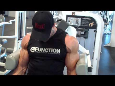 Matt Porter Shoulder Training