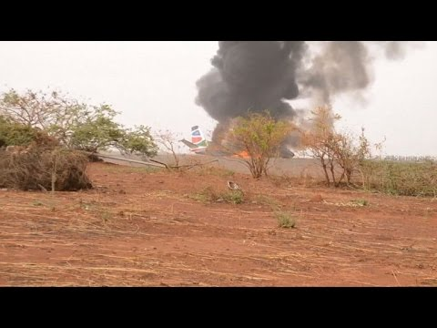 Plane crash-lands in S.Sudan with 45 onboard: officials