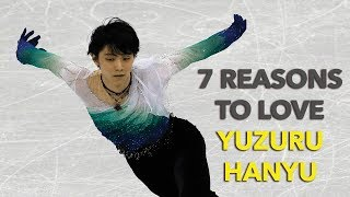 7 Reasons to Love Olympic Gold Medalist Yuzuru Hanyu
