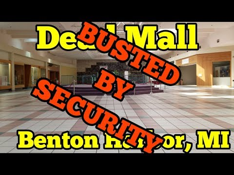 Dead Mall Tour - The Orchards Mall - Benton Harbor, Michigan