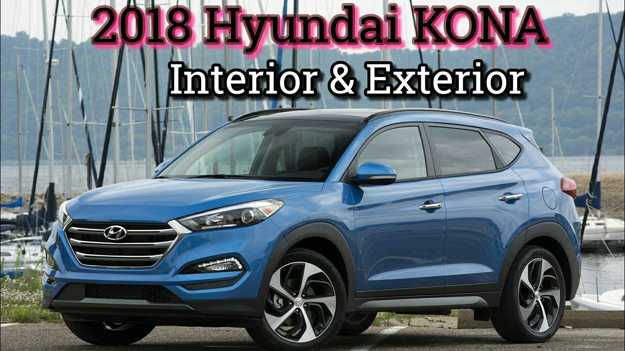 2018 new hyundai kona interior exterior_hd