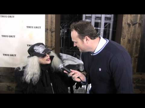 Sylvia Miles talks with Brad Blanks about red carpets and love with John Wayne