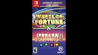 Nintendo Switch Wheel of Fortune Game #1