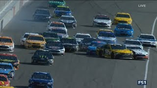 Monster Energy Nascar Cup Series 2017. Michigan International Speedway. Multiple Crash