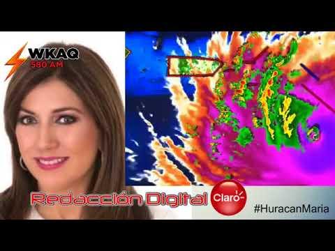 WKAQ 580 BOLETIN Huracan Maria Escucha a Ada Monzon y Ruben
