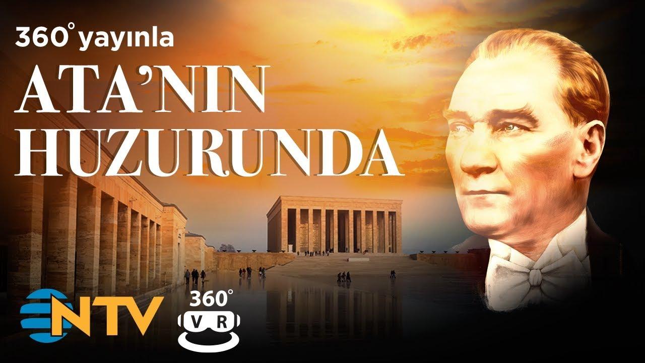 NTV 360 DERECE / SANAL GERÇEKLİK VİDEOSU: ANITKABİR'DE ATA'NIN HUZURUNDA