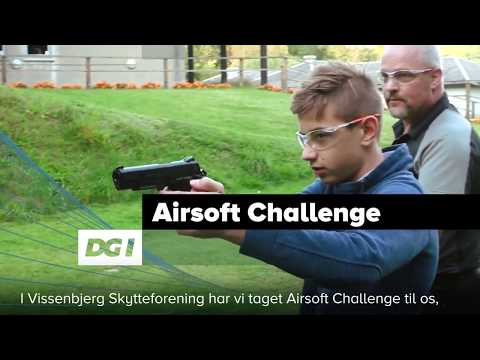 Få Airsoft Challenge i din forening - Se eksempel fra Vissenbjerg Skytteforening