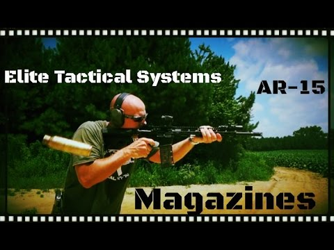 Elite Tactical Systems (ETS) AR-15 Polymer Magazine Test & Review (HD)