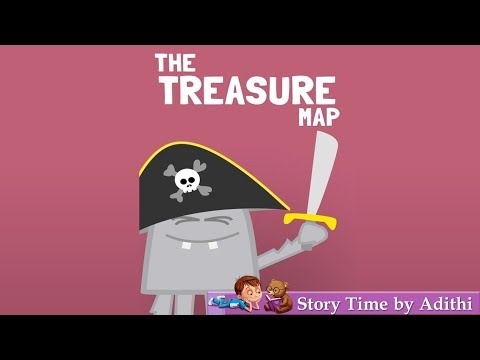 The Treasure Map | Children story book reading | Children's Book Read Aloud|Kids read along story