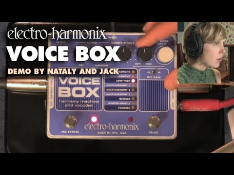 """""""In Harmony"""" - Voice Box Video by Nataly and Jack - Vocal Harmony Machine/ Vocoder"""