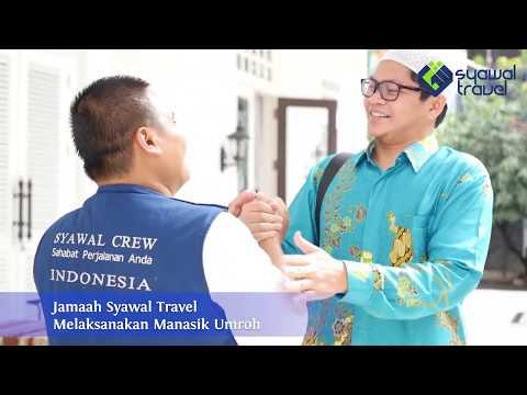 Kloter I sebanyak 155 Jamaah Umrah Syawal Patuna keberangkatan 8 Juni 2019 by Garuda grup Coklat Mud.