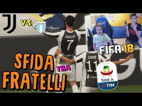 JUVENTUS vs LAZIO - RONALDO SHOW!! CONTRO MIO FRATELLO! - Fifa 18