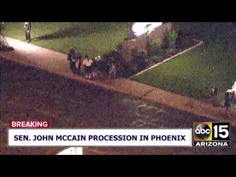 LIVE COVERAGE: Sen. John McCain passes away at age 81