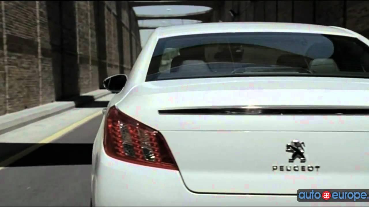 Lease a Peugeot 508 Through Auto Europe - YouTube
