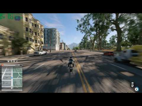 Watch Dogs 2 Performance Test without SSR (1440p + 1.25 pixel density /temporal/ GTX 1070)
