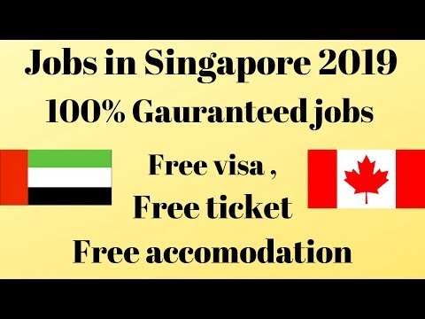 100% Jobs in Singapore 2019 // Apply Now
