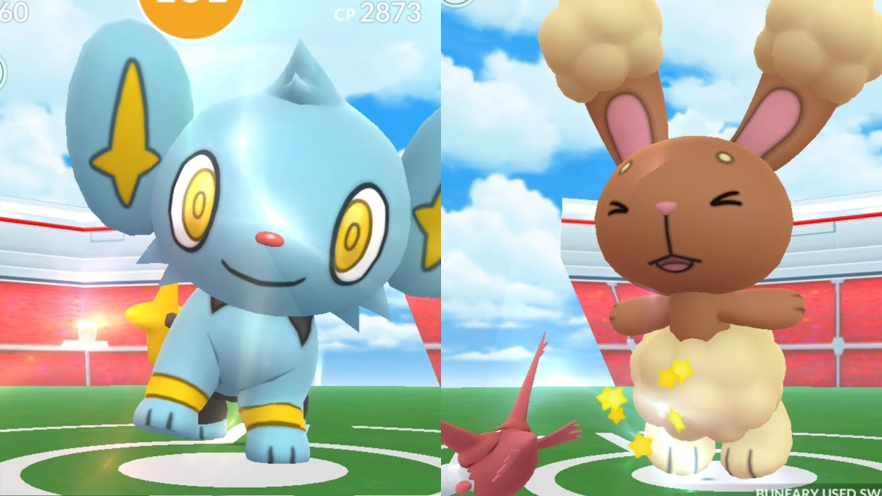 Raid Battles Gen 4 Buneary Shinx Pokémon Go Youtube