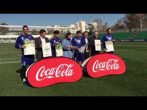 Presentación del Calendario Coca-Cola del Betis - 동영상