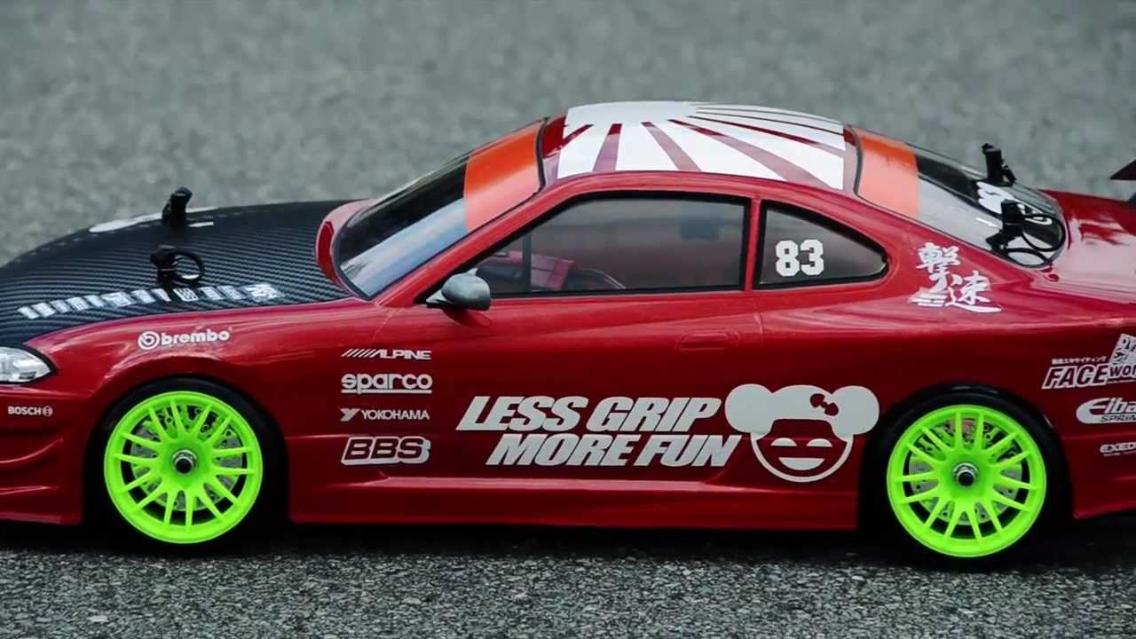 1 10 rc drift less grip more fun nissan silvia s15. Black Bedroom Furniture Sets. Home Design Ideas