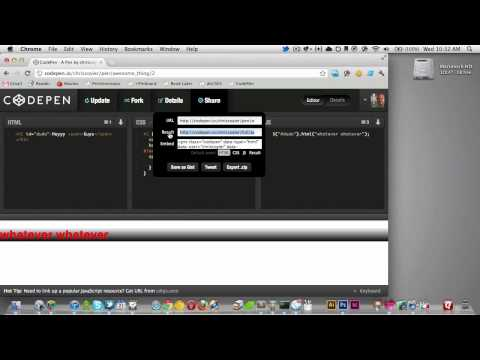 112: Using CodePen | CSS-Tricks