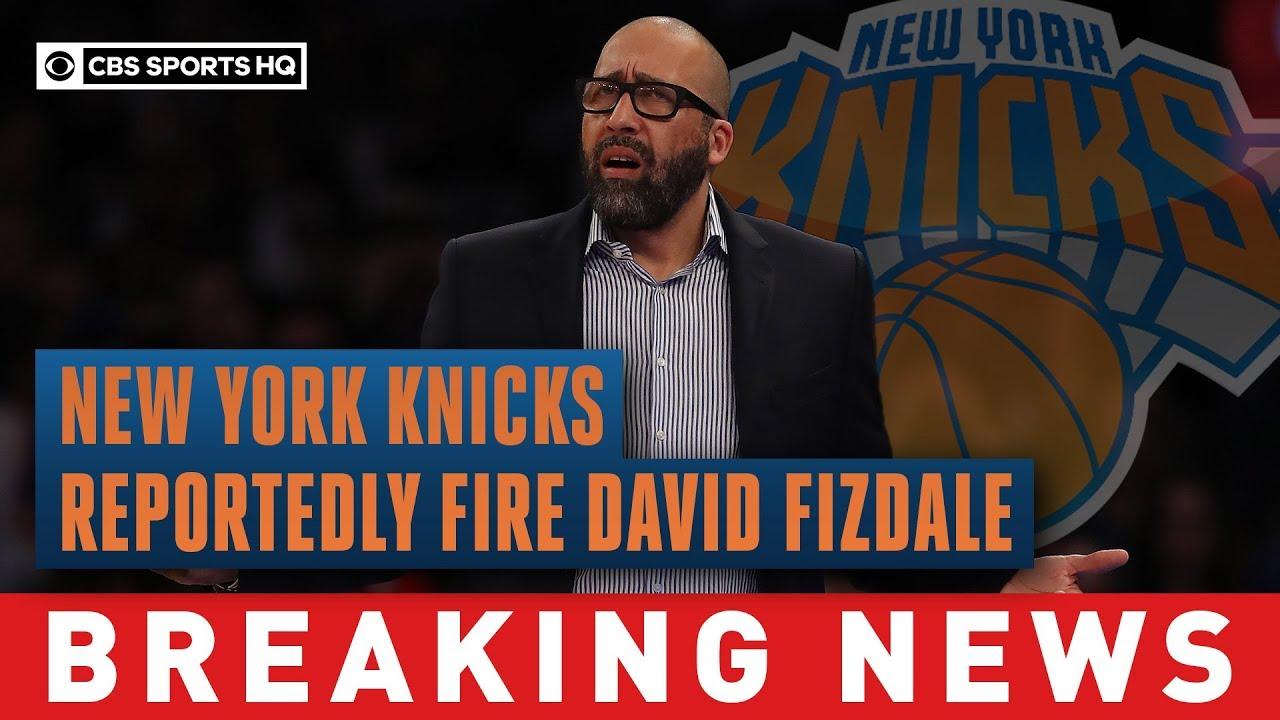 New York Knicks fire coach David Fizdale after 4-18 start
