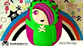 GIANT Tokidoki Sandy Play Doh Surprise Egg | Punkstar Frenzies Shopkins 2