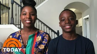 Meet The 12-Year-Boy Who Sang 'I Just Want To Live' About George Floyd | TODAY
