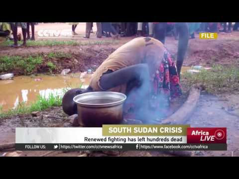 United Nations concerned about the deteriorating humanitarian situation in South Sudan