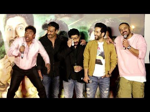 Golmaal Again Trailer Launch FUNNY Moments - Ajay Devgn,Arshad Warsi,Johnny Lever,Parineeti,Tusshar