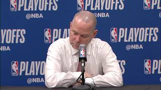 Mike Malone Postgame Interview - Game 5 | Blazers vs Nuggets | 2019 NBA Playoffs