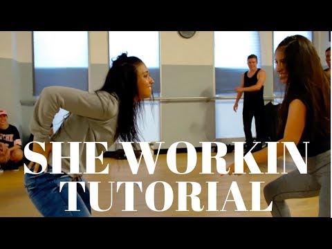 She Workin DANCE TUTORIAL | @DanaAlexaNY Choreography