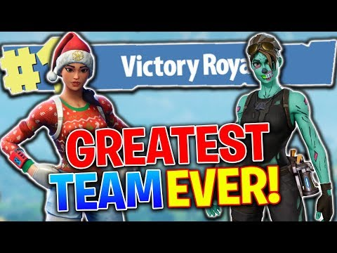 The Greatest Team In Fortnite! Fortnite Battle Royale (PS4 Pro)
