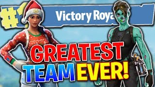 The Greatest Team In Fortnite! Fortnite Battle Royale (PS4 Pro)