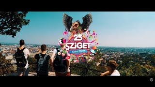SZIGET 2017 - (my AFTERMOVIE) - 25th Anniversary