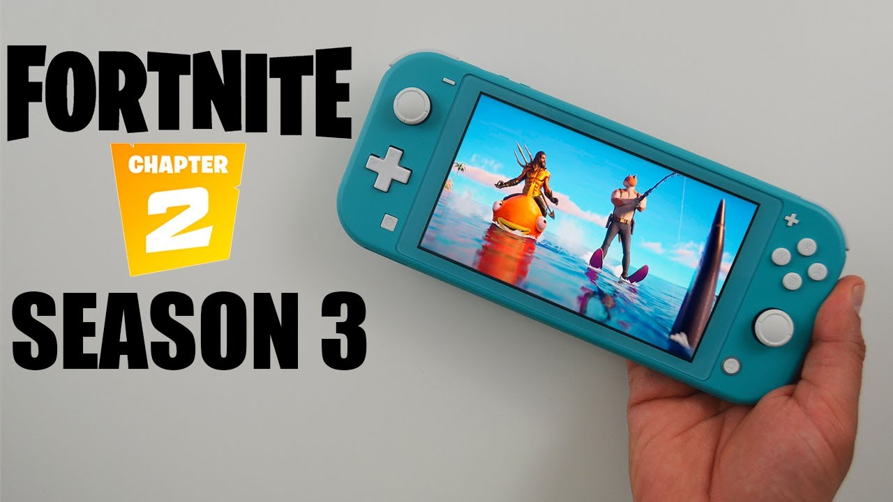 Download Nintendo Switch Lite Fortnite Gameplay Pictures
