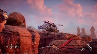 Horizon Zero Dawn - Thunderjaw vs Ravager Trial Blazing Sun Ultra Hard
