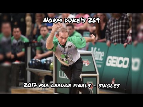 2017 PBA League Finals, Singles – Norm Duke's 269, Dallas Strikers