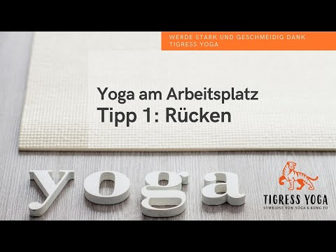 Homeoffice Yoga Tipp 1 Ruckenubungen De Youtube