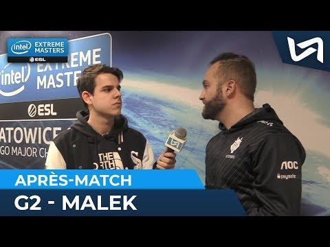 "maLeK G2 Esports : ""JaCkz et Lucky ont su faire le taff"" - IEM Katowice Major 2019"