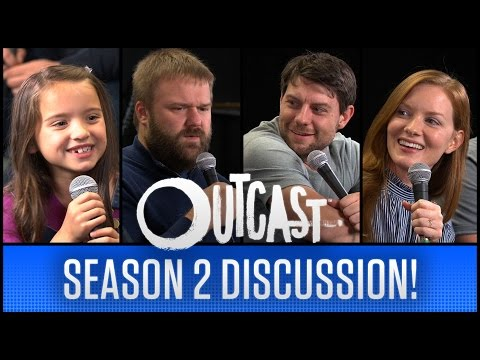 Robert Kirkman, Patrick Fugit & MORE!  OUTCAST Season 2 Discussion!