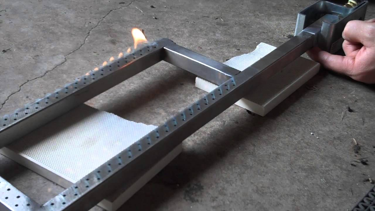 Making A Burner For Cooker ~ Propane burner with venturi youtube