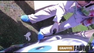graffiti-fabriek - graffiti workshop bedrijfsuitje Berenkuil Eindhoven
