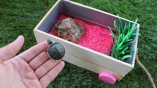 Build Baby TURTLE Dream Pond!! **$500 Challenge** . . .